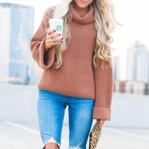 Free People Park City Turtleneck Sweater